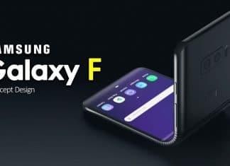 Samsung Galaxy F pieghevole e schermo espandibile