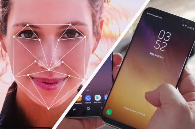 Samsung rinoscimento facciale 3D Galaxy S9 Note 9