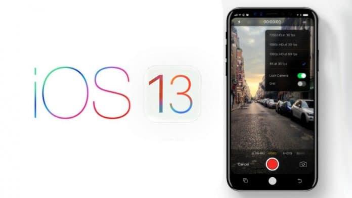 Apple iOS 13 rilascio