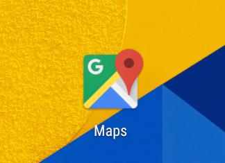 Google Maps pianificare viaggio auto Android