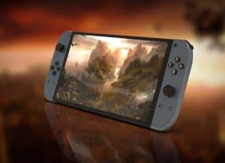 Nintendo Switch foto design 2019