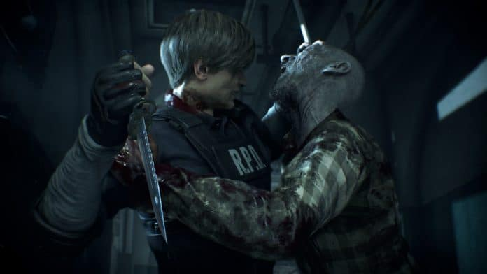 Resident Evil 2 patch day one