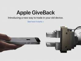 Apple permuta GiveBack iPhone
