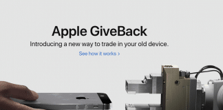 Apple permuta GiveBack iPhone