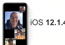 Apple rilascia iOS 12.1.4 bug FaceTime