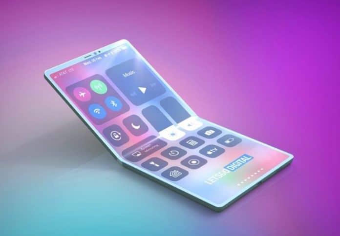 Brevetto Apple iPhone pieghevole 3D