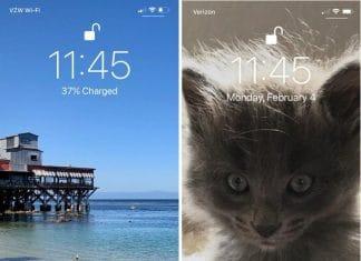 Bug iOS 12.2 lock screen percentuale batteria Apple