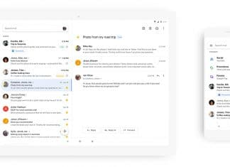 Google Gmail restyling Total White