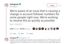 Instagram toglie follower bug