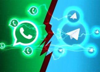 SMS più usati di Whatsapp e Telegram
