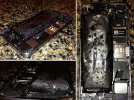 Samsung Galaxy S5 esplode in Florida