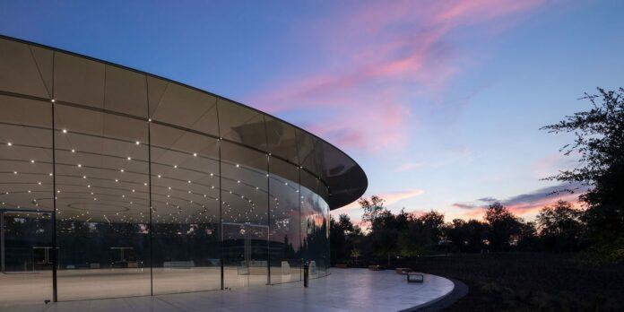 Apple evento 25 marzo 2019 Steve Jobs Theatre