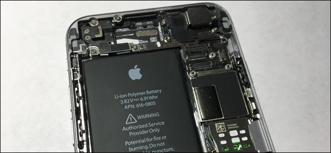 Apple riparazione iPhone danneggiato batteria non originale