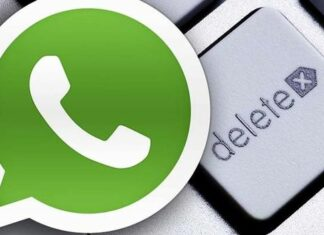 Beta Whatsapp iPhone cancella foto video