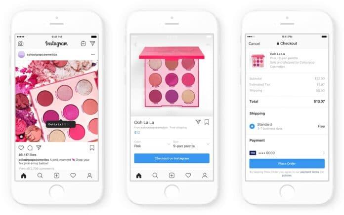 Cos'è Checkout Instagram e-commerce