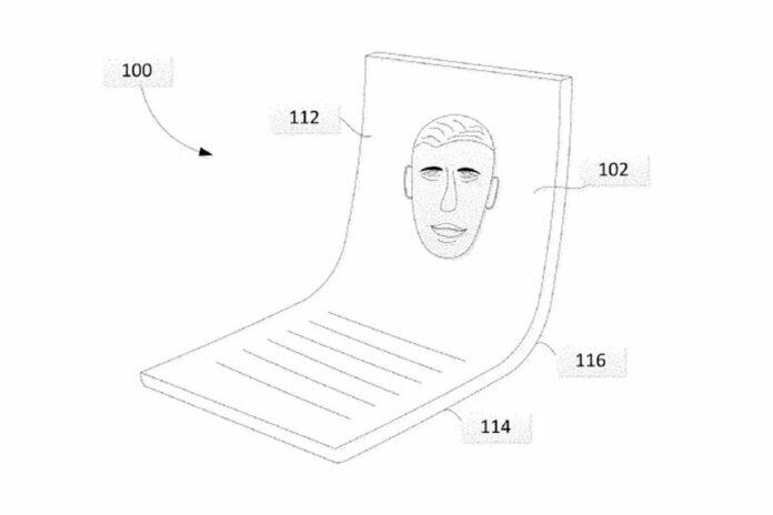 Google Display foldable brevetto