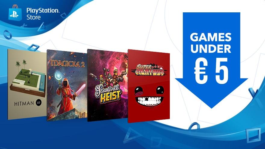 Sul PlayStation Store Videogames A Meno Di EUR5 Ecco I Migliori