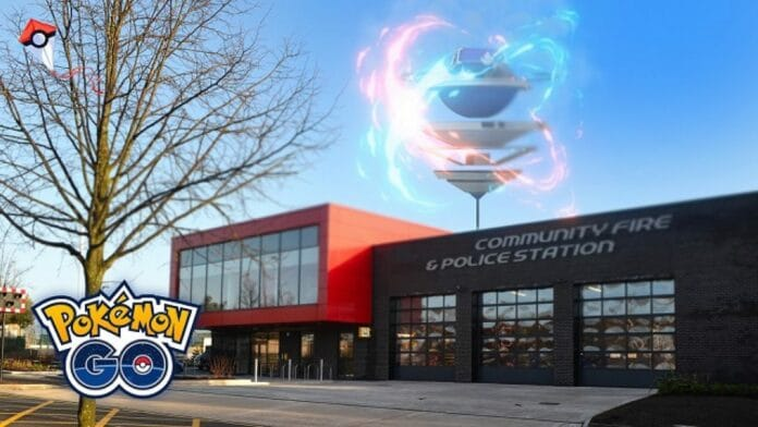 Pokémon GO polizia contro vigili del fuoco