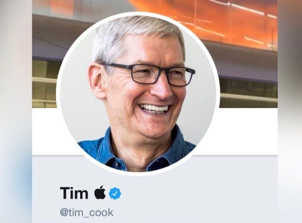 Tim Apple profilo Twitter