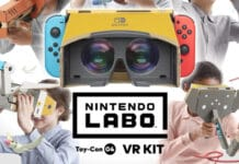 kit nintendo switch labo realtà virtuale