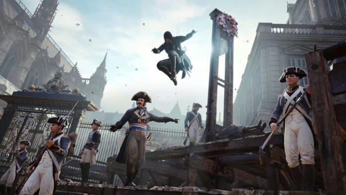 Assassin's Creed Unity PC gratis Ubisoft 3 milioni download