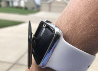 Batteria rigonfiata New Jersey Apple Watch Series 3