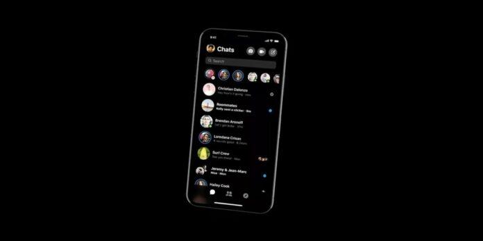 Dark Mode Facebook Messenger attivazione iOS Android