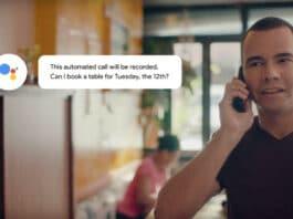 Google Duplex assistente intelligenza artificiale iPhone