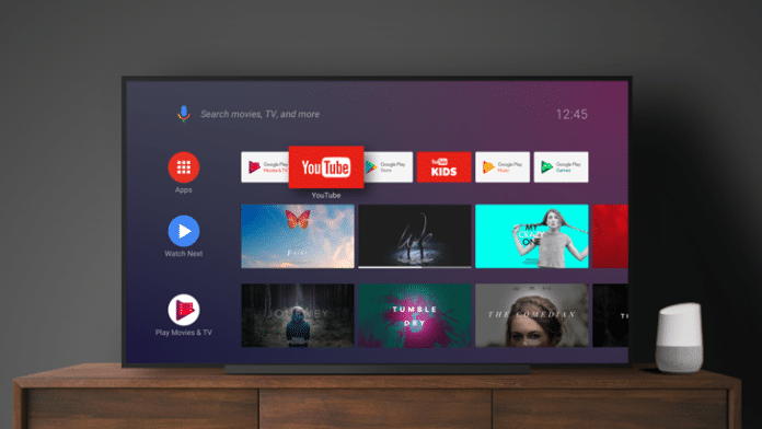 Google Home streaming Android TV