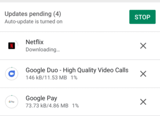 Google Play Store download simultaneo