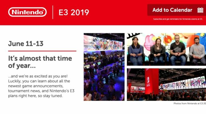 Nintendo Switch sito online E3 2019