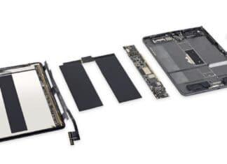iPad Mini 5 riparazione iFixit