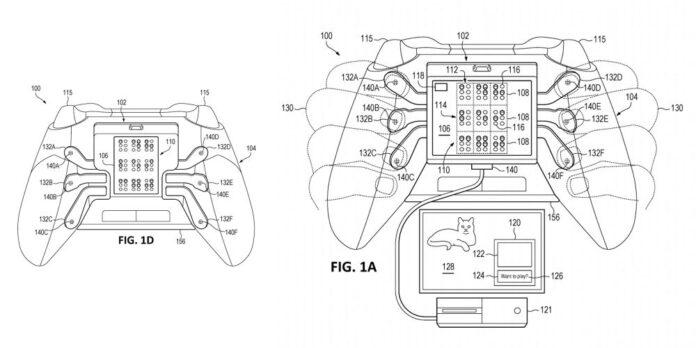 Controller Microsoft Xbox brevetto per non vedenti