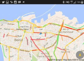 Google Maps traffico rappresentazione grafica colori