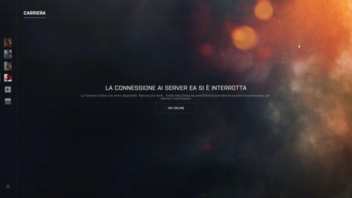 La connessione ai server EA si è interrotta down FIFA 19 Apex Legends