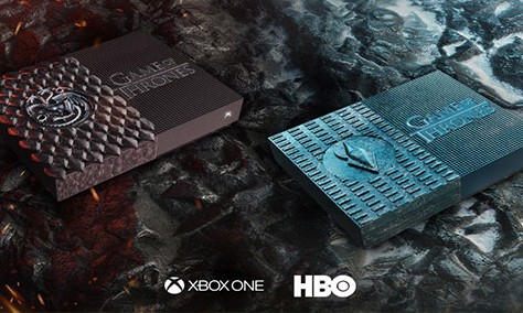 Microsoft omaggia Skin Game Of Thrones Xbox One S Digital