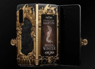 Samsung Galaxy Fold Game of Thrones oro