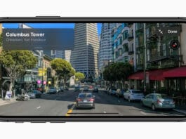 Apple Maps iOS 13 Look Around in virtuale