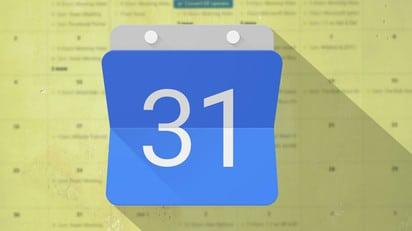 Google Calendar truffa spam