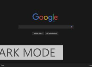 Google Foto modalità dark mode