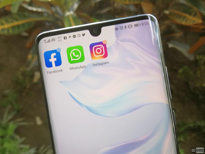 Huawei niente app preinstallate di Whatsapp, Instagram e Facebook