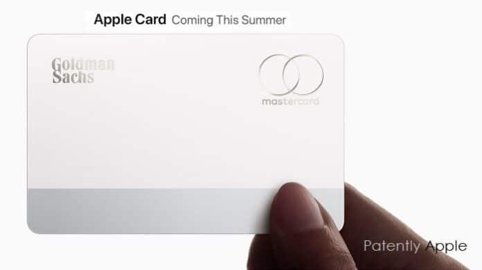 Apple Card registrazione marchio Europa