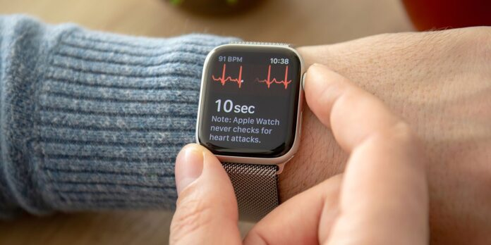 Apple Watch Series 4 ECG giovani pazienti