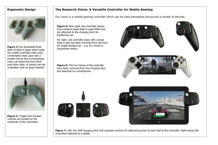 Brevetto controller Xbox Project xCloud