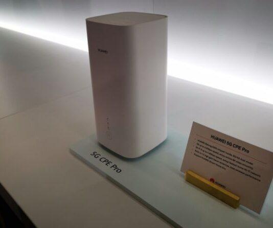 Huawei presenta CPE 5G Pro hub