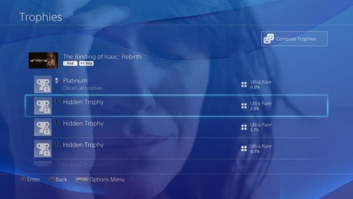 Scoprire trofeo nascosto PlayStation 4