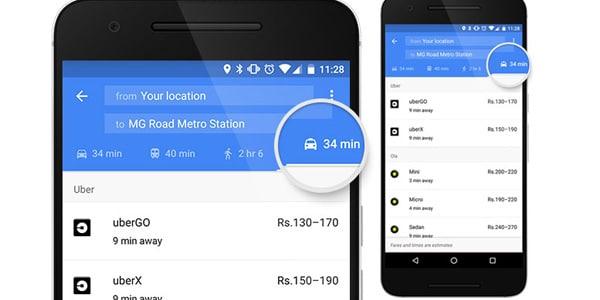 Google Maps aggiunge bike e car sharing