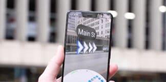 Google Maps realtà aumentata video test