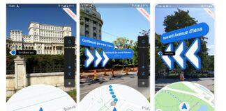 Google live view realtà aumentata