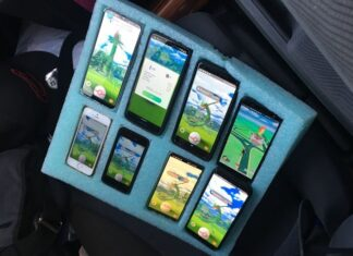 Pokémon GO polizia Washington 8 smartphone
